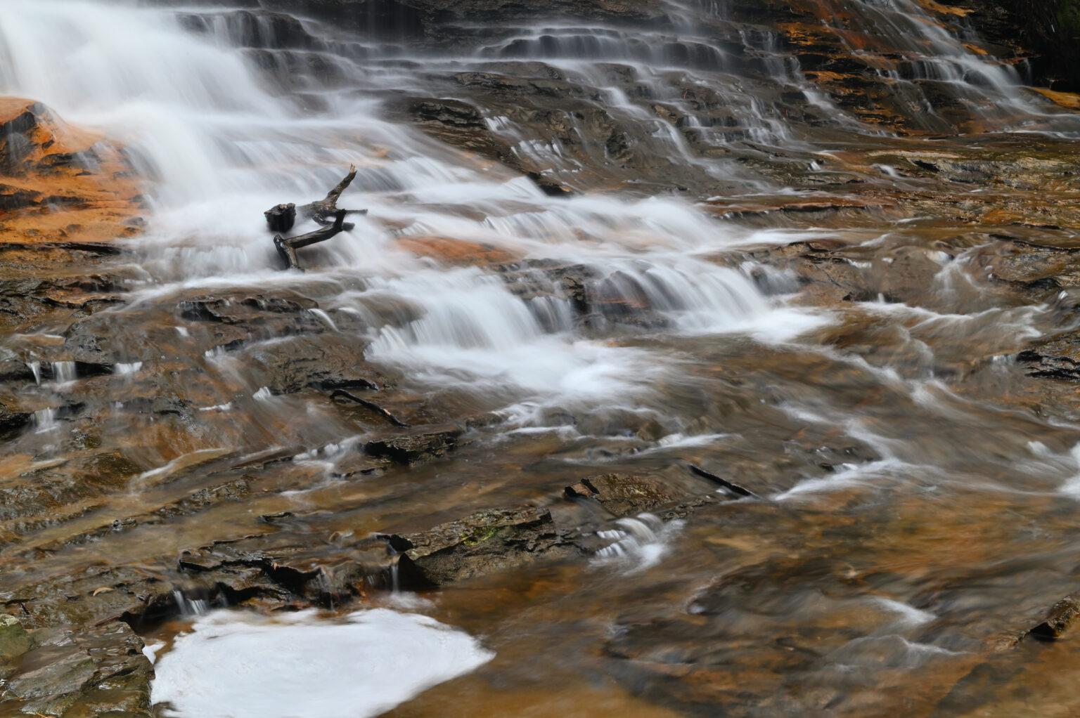 Weeping Rock falls